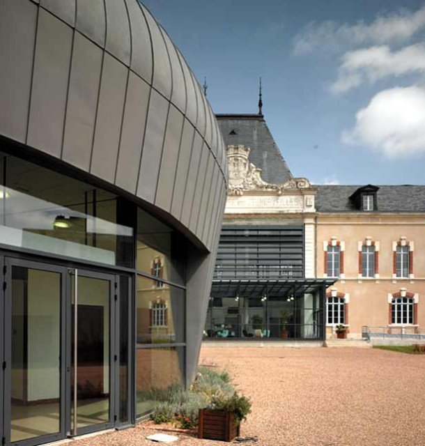 Centre culturel, architecte Bertrand Penneron