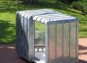 Mobilier urbain itinérant, architecte Bertrand Penneron