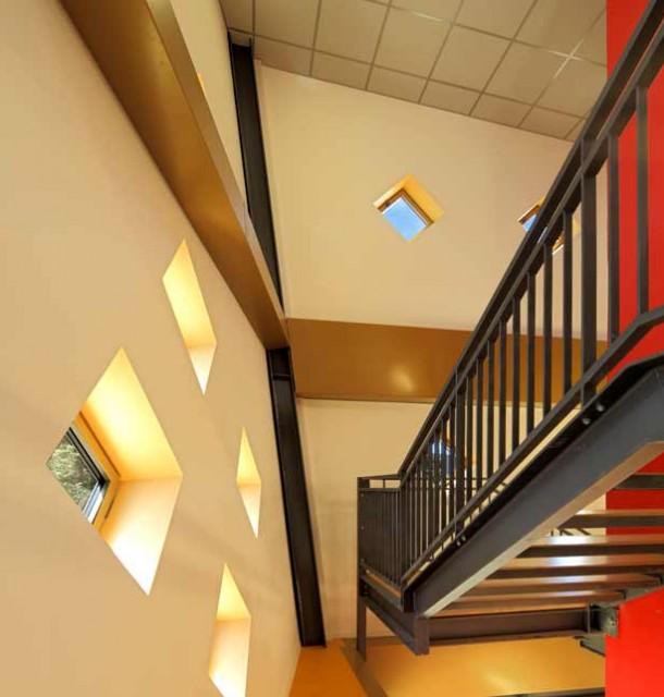 Espace culturel polyvalent, architecte Bertrand Penneron