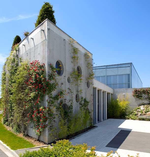 Gymnase intercommunal, architecte Bertrand Penneron