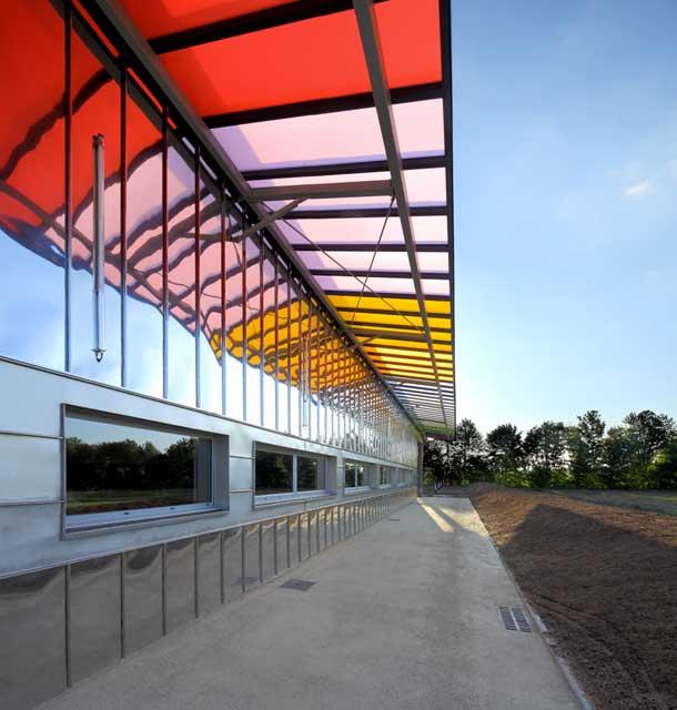 Salle bivalente, architecte Bertrand Penneron