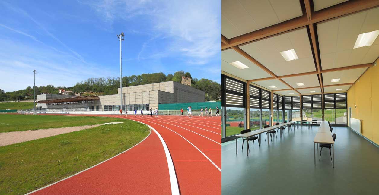 Stade et centre sportif bertrand penneron for Argenton sur creuse piscine