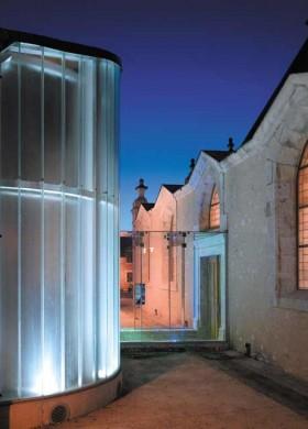 Eglise transformée en centre culturel, architecte Bertrand Penneron