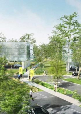 Zone d'activités Qualiparc, architecte Bertrand Penneron