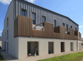 Maison de logements collectifs
