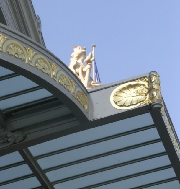 Restauration de la façade de la gare de Tours, B. Penneron architecte
