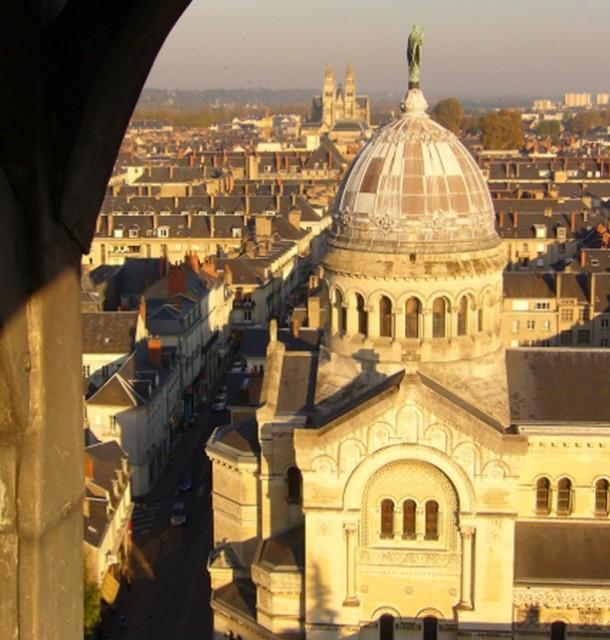 Restauration du dôme et de la statue de la Basilique Saint Martin, B. Penneron architecte